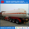 Nigeria 3 Axle 50m3 LPG Transport Trailer 50000L LPG Tank Trailer