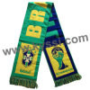 2014 World Cup Brazil Soccer National Team Woven Stadium Scarf Football Scarf