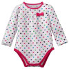 Wholesale Beautiful Heart Dots Style Baby Girl Clothes