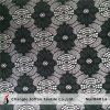 Black Nylon Lace Fabric in Rolls (M4014)