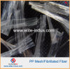 Concrete PP Polypropylene Fibre Mesh Cement Fiber 25mm 38mm 50mm