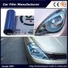 Self-Adhesive Light Blue Color Car Headlight Film Car Tint Vinyl Films 30cmx9m