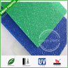Colored Cut to Size Wavy Plastic Panels Polycarbonate Embossed Sheet