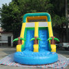 8*4*4.5m Amazing Middle Size Commercial Inflatable Water Slide with Little Pool Cheap Price