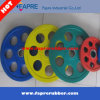 Color Grip Olympic Plate Rubber 7-Handle Grip Olympic Weight Plates