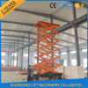 China Electric Hydraulic Mobile Ladder Hydraulic Ladder with Ce