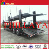 Transport Car Two Single Wheel Axles Car Carrier Semi Trailer