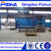 Hanging Continuous Type Gas Cylinders Shot Blasting Machine