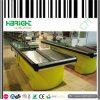 Super Market Check out Counters with Conveyor Belt