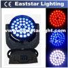 36 X 10W LED Wash Moving Head RGBW Quad