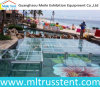 1.22X1.22m Acrylic Glass Dancing Stage Portable Swimming Pool Stage