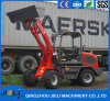 Jieli Wheel Loader with Excavator /Mini Wheel Loader Zl08 with E3 Engine
