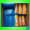 HDPE Trash Bags Disposable Bags with Paper Label
