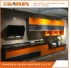 Bright Askl-004 Lacquer Faced MDF Kitchen Cabinet