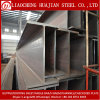 Hot Rolled Ss400 A36 Black Steel Beam with H Type