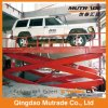 Scissor Double Cylinder Hydraulic Vertical Car Lift