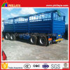 4axles 30FT Towing Drawbar Trailer with Enclosed Sidewalls