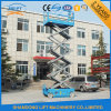 12m Lift Height Hydraulic Mobile Electric Scissor Lift with Ce