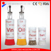 Glass Oil and Vinegar Bottles Wholesale with Screen Printing
