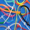 Self-Locking Cable Tie (2.5X100, colorful)