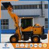 China Mini Loader 1.5 Ton Front Wheel Loader Farming Mini Loader Ce/ISO