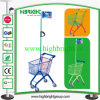 Kids Metal Shopping Hand Cart with Flag