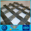 Strength Warp Knitting Polyester Geogrid 40kn/M for Dike Slope