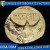 3D Gold Plating Metal Challenge Coin for Souvenir Gift