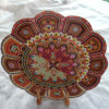 Floral Pattern Ethnic Coaster