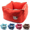 Washable Soft Dog Velvet Beds Double Functional Pet Cushions