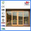 Outdoor Solid Teak Wood Glass Sliding Doors (JHK-G01)