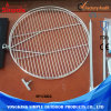 Portable Steel Barbecue Round BBQ Grill with Wire Mesh Net