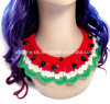 OEM Custom Hand Crochet Necklace Bib Lace Collar Garment Accessories