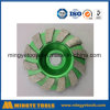 Green Diamond Cup Wheel for Grinding Stone / Marble