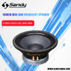 Xd1065156-10 Inch Compact 200RMS Professional Loudspeaker Woofer