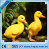 Polyresin Resin Sound Controlled Garden Figurine Duck Parrot Bird