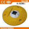 Yellow or Red Polyurethane Plastic Round Solar Speed Hump