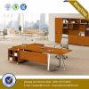 Modern Metal Leg Wooden Modesty Panel Office Desk (NS-NW096)