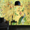 Master Piece Hand Made Non-Woven Chinese Style Wallpaper