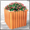 HDPE WPC Flower Box (KJ022)
