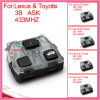 Remote Interior for Auto Lexus with Ask 3 Butons 304.3MHz-D FCC ID: 60040