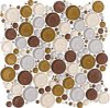 Pebble Beach Glass Mosaic