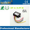 Waterproof 70W DC to DC 12V to 13.8V 5A Step-up Converter