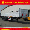 50 Tons Tri-Axle Heavy Duty Cargo Truck Semi-Trailer