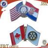 High Quality Custom Flag Badge/Pin (FTBD1502A)
