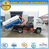 Foton 4X2 2 T Mini Arm Roll off Garbage Truck 2 Tons Hook Arm Truck for Sale