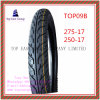 ISO Nylon 6pr Motorcycle Tyre with 275-17, 250-17