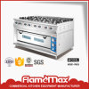 Hgr-98g Commercial 8-Burner Gas Cooker with Gas Oven for Catering Equipment