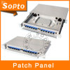 Fiber Optic Wall Type 12 Ports Network Patch Panel (SDF-12SCRD1)