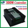 LCD 500W 24V PWM Wind-Solar Hybrid Controller for Street Light